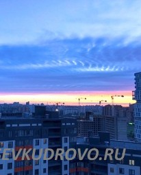 Небо над Кудрово