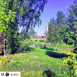 парк Оккервиль летние фото