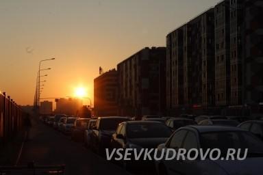 Закаты Кудрово