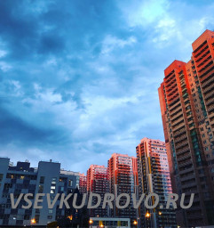 Сумерки в Кудрово