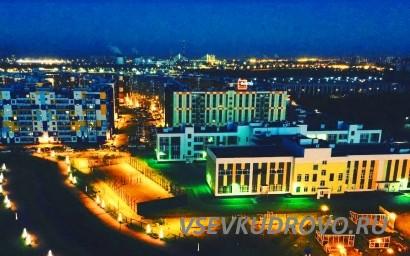 Ночное Кудрово ЖК Семь Столиц