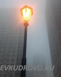 Туманное утро в Кудрово