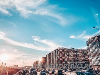 Весеннее небо в Кудрово