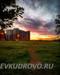 лучшие закаты Кудрово
