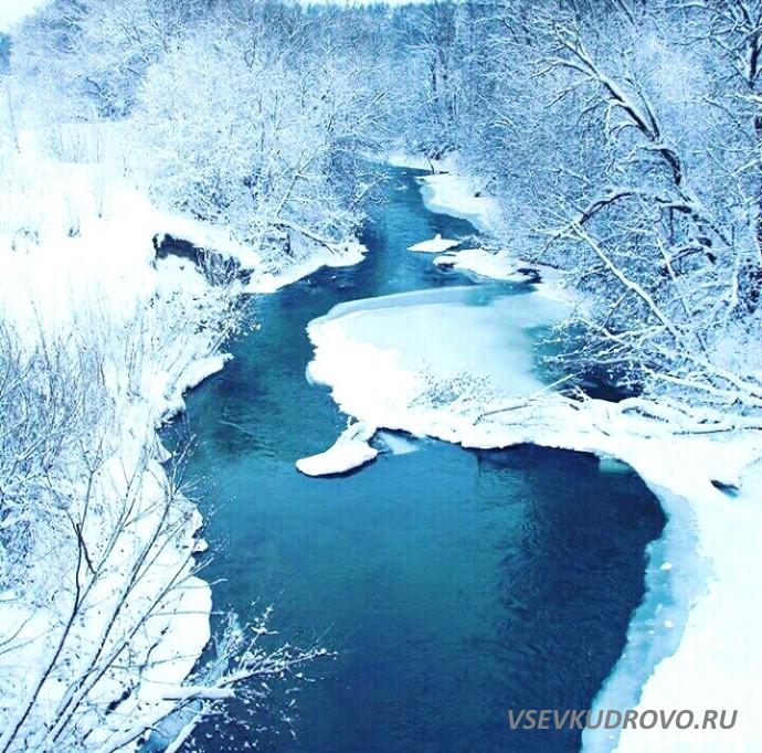 река Оккервиль в Кудрово