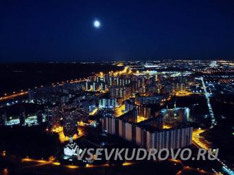 ночные виды Кудрово