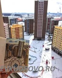 Фото Кудрово с высоты