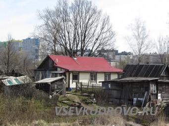 Деревянные дома в Кудрово