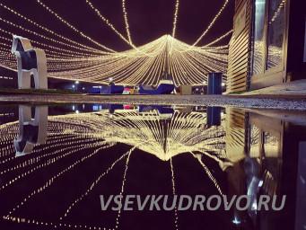 фонарики в Мега Парке