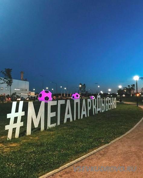 Мега Парк Дыбенко вечернее фото