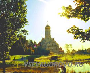 Кудрово парк Оккервиль Храм