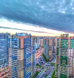 Невероятное небо в Кудрово