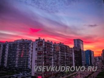закаты Кудрово фото