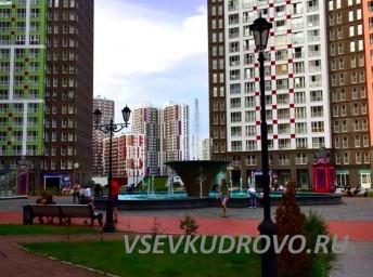 Фонтан в Кудрово