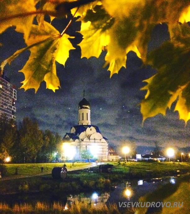 Храм в Кудрово