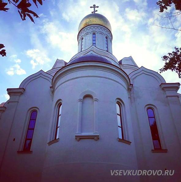 Храм в Кудрово фото