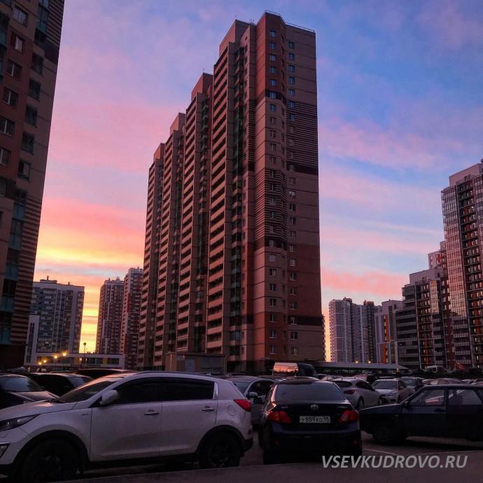 Закаты в Кудрово