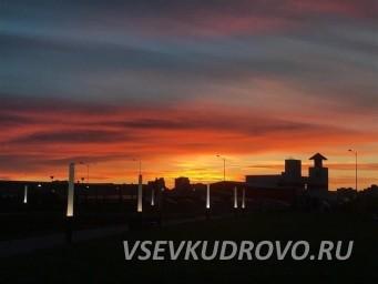 Ночное Кудрово Фото