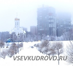 Храм в парке Оккервиль Кудрово
