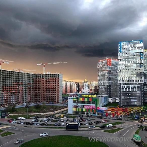 Октябрьское небо Кудрово