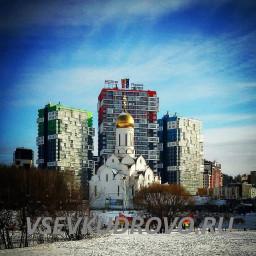 Парк Оккервиль Кудрово зима