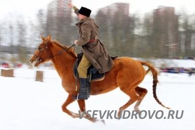 Конница в Кудрово праздник 23 февраля