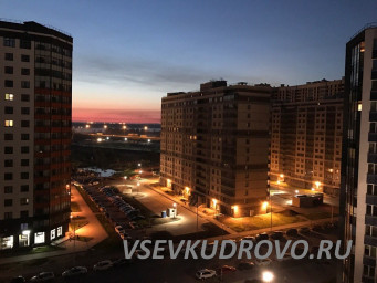 Фото ночного Кудрово