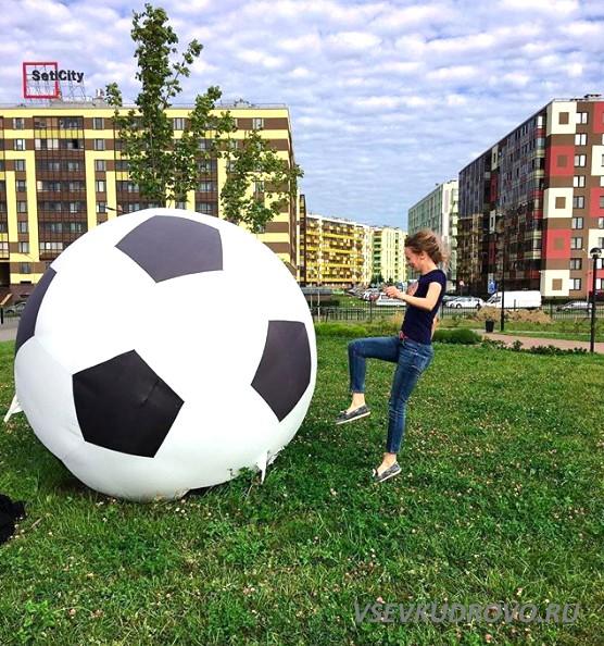 Мячи в Мега Парке