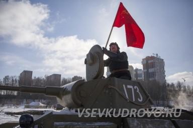 Танковые бои в Кудрово 23 февраля
