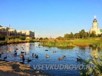 Парк Оккервиль Кудрово Храм