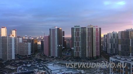 Прекрасные закаты Кудрово