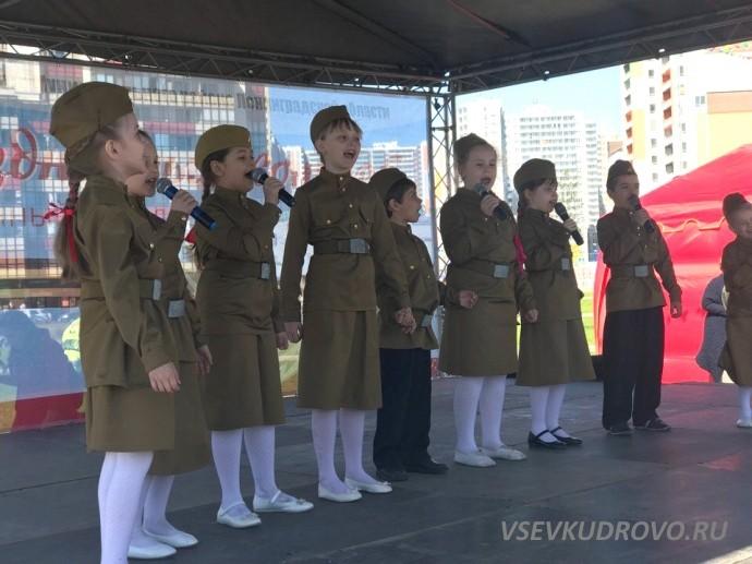 День Победы в Мега Парке