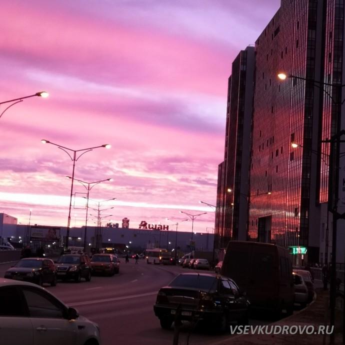 Невероятные рассветы Кудрово