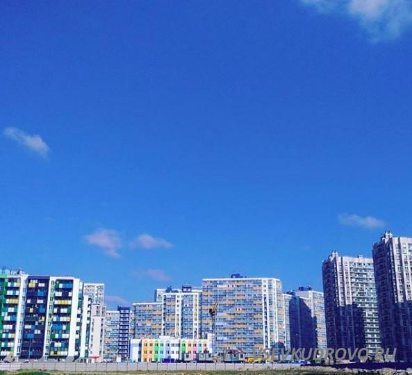 Голубое небо Кудрово