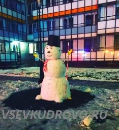 Снеговик Кудрово